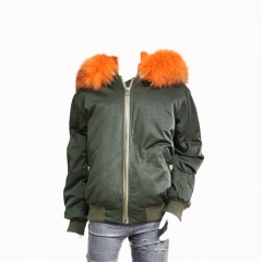 whole new men new fashion clothes winter fur parka jackets for men