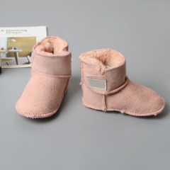 New Baby's Winter Warm Comfortable Fur Shoes,Baby Boots and Shoes Wholesale warm fuzzy baby boots