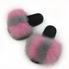 Reliable quality girls fur slides