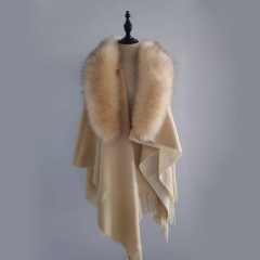 2020 New Fashion ladies luxury fur cape for winter